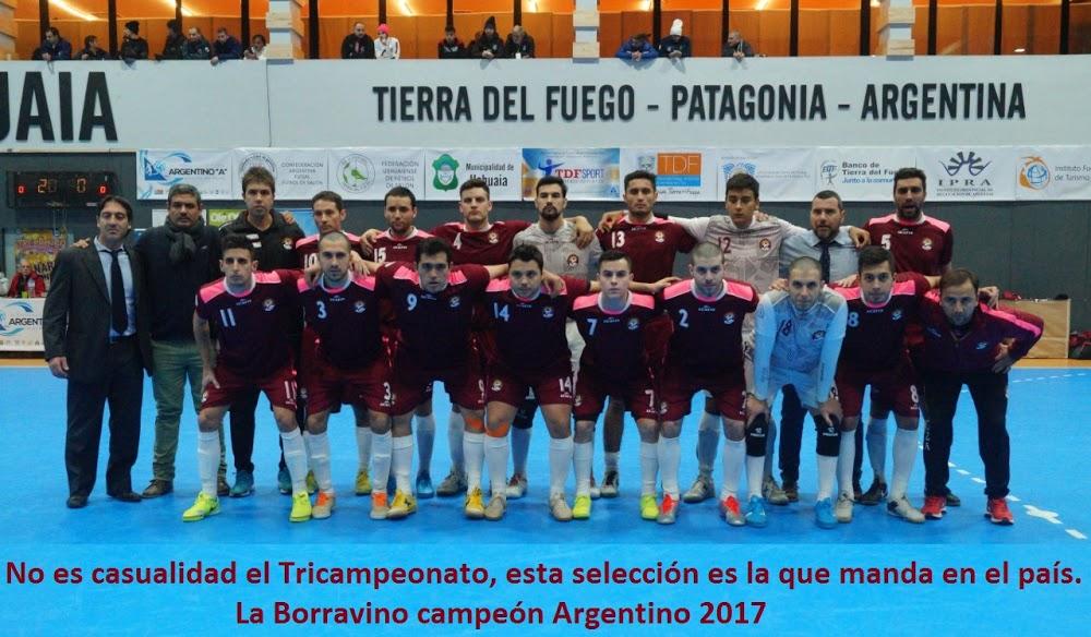 El mejor Futsal del país es Borravino.