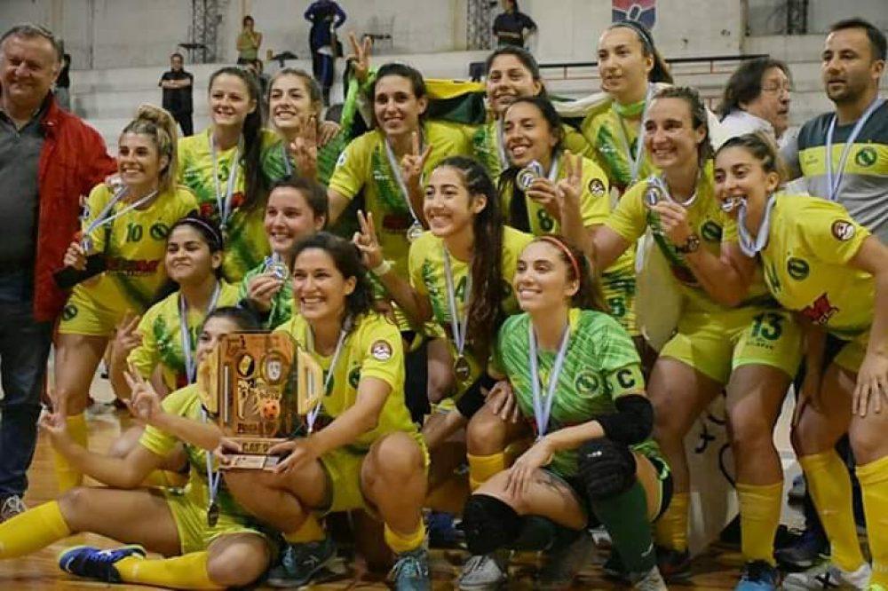 Cementista, Pacífico y Univ. Maza, dejaron al Futsal Femenino de Mendoza nuevamente en lo más del deporte en el país.