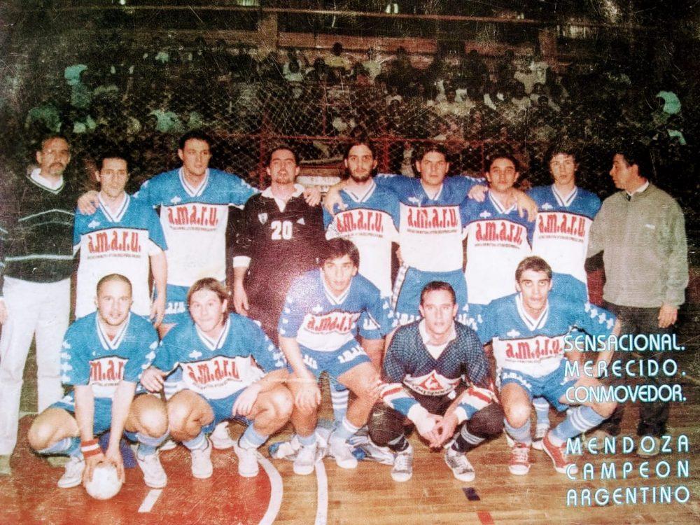 Feliz aniversario Futsal de Mendoza. Solo pasaron 20 años de la sexta corona.