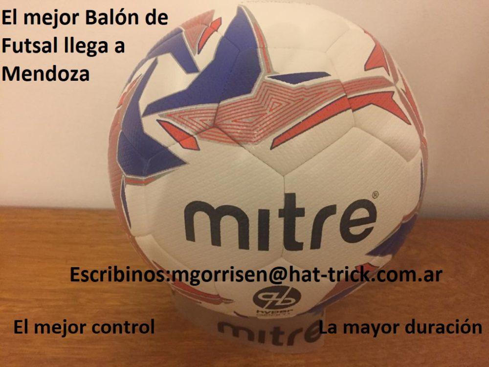 El mejor Balón de Futsal Nº4 llega a Mendoza
